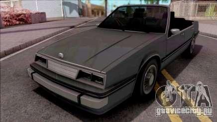 GTA IV Willard Cabrio для GTA San Andreas