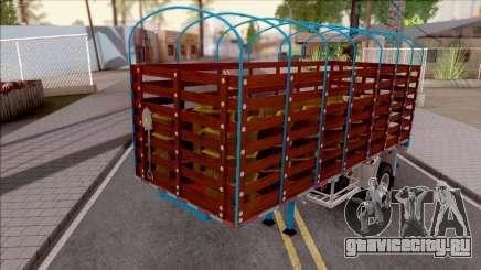 Remolque de Estacas Blue для GTA San Andreas