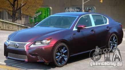 Lexus GS350 V1 для GTA 4
