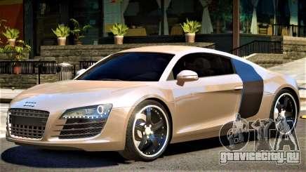 Audi R8 Y08 для GTA 4