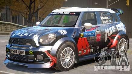 Mini Countryman Rally Edition V1 PJ6 для GTA 4