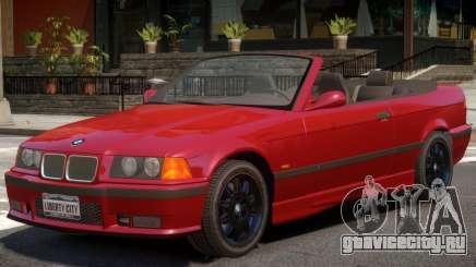 BMW M3 E36 Cabrio для GTA 4
