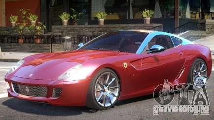 Ferrari 599 V1.1 для GTA 4