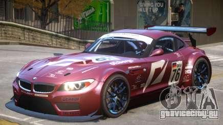 BMW Z4 GT3 V1 PJ1 для GTA 4
