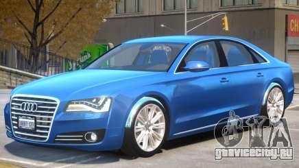 Audi A8 V1 R1 для GTA 4