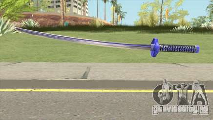 Purple Katana для GTA San Andreas