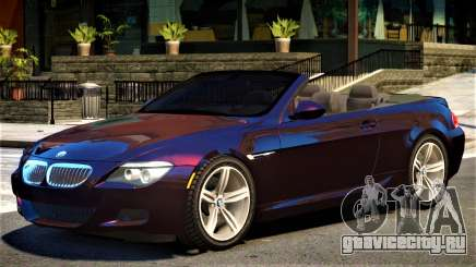 BMW M6 Cabrio для GTA 4