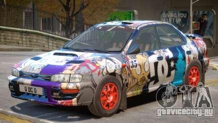 Subaru Impreza Rally Edition V1 PJ5 для GTA 4