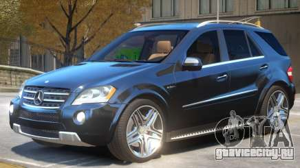 Mercedes Benz ML63 R2 для GTA 4