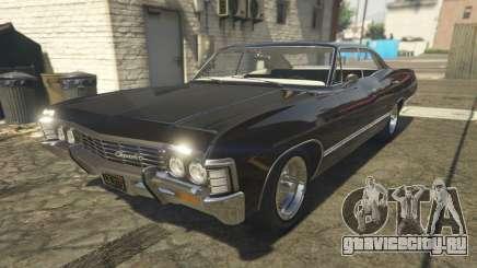 Chevrolet Impala 1967 Supernatural для GTA 5