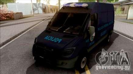 Mercedes-Benz Sprinter Policia Federal Argentina для GTA San Andreas