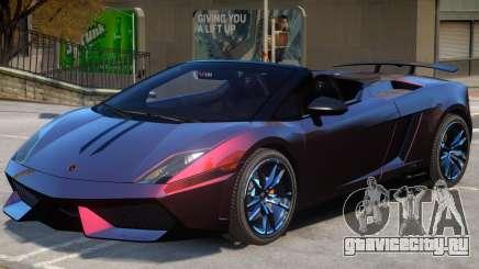 Gallardo Spyder Performante для GTA 4