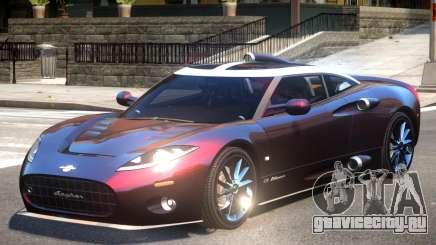 Spyker C8 V1 для GTA 4