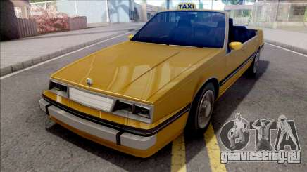 GTA IV Willard Cabrio Taxi для GTA San Andreas