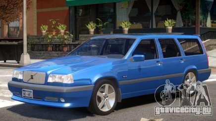 1996 Volvo 850 V1.1 для GTA 4