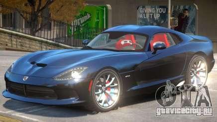 Dodge Viper GTS V1.0 для GTA 4