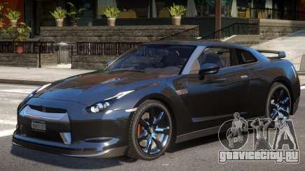 Nissan GTR R35 V1.2 для GTA 4