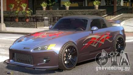 Honda S2000 V1.2 PJ2 для GTA 4