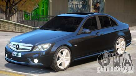 Mercedes C180 V1 для GTA 4