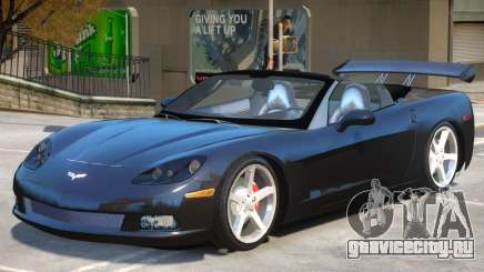 Corvette C6 Roadster для GTA 4