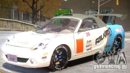 Toyota MRS2 V1 PJ1 для GTA 4