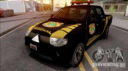 Mitsubishi L200 Triton 2010 Policia Federal для GTA San Andreas