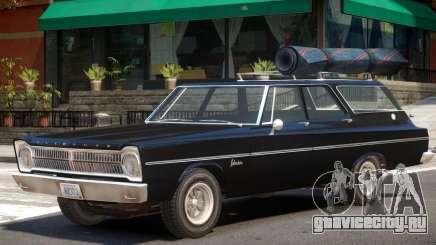 1965 Plymouth Belvedere R2 для GTA 4