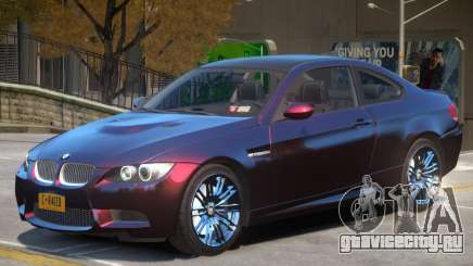 BMW M3 E92 Improved для GTA 4