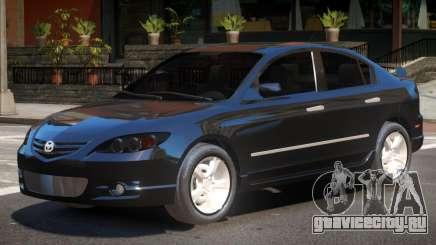 Mazda 3 V1.1 для GTA 4