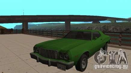 Форд Гран Торино 1974 Зеленый для GTA San Andreas