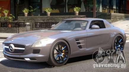 Mercedes Benz SLS AMG Y11 для GTA 4