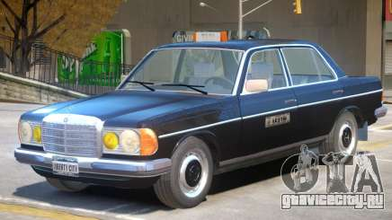 Mercedes Benz 230 V1 Taxi Car для GTA 4