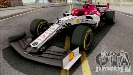 Alfa Romeo C38 F1 2019 для GTA San Andreas