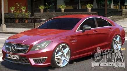 Mercedes CLS 63 AMG V1 для GTA 4