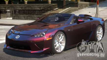 Lexus LF-A Spider для GTA 4