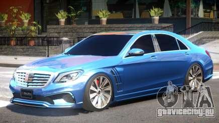 Mersedes Benz W222 V1 для GTA 4