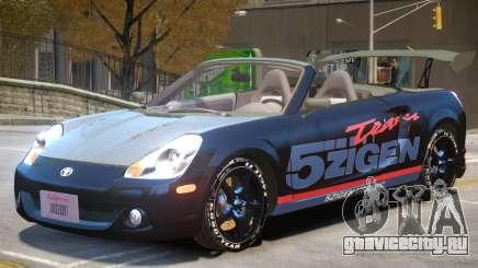 Toyota MRS2 V1 PJ3 для GTA 4