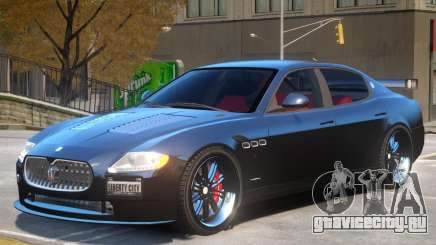 Maserati Quattroporte V2 для GTA 4