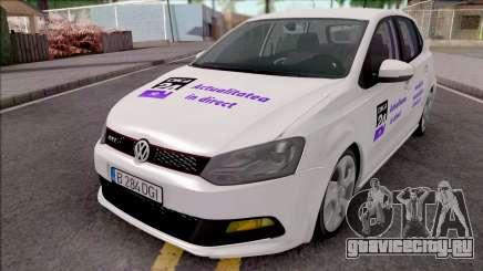 Volkswagen Polo GTI 2014 Digi24 HD для GTA San Andreas