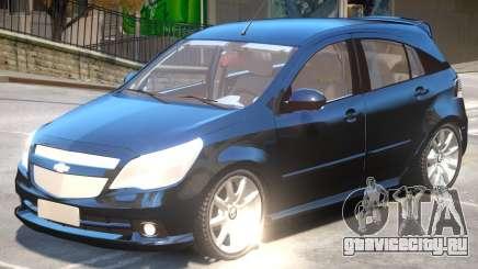 Chevrolet Agile V1 для GTA 4
