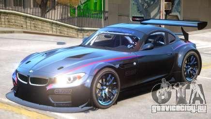 BMW Z4 GT3 V1 PJ2 для GTA 4