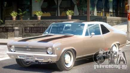 1969 Chevrolet Nova V1 PJ1 для GTA 4