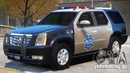 Escalade Police для GTA 4