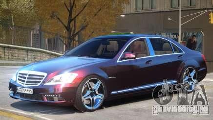 Mercedes S65 AMG V1.0 для GTA 4