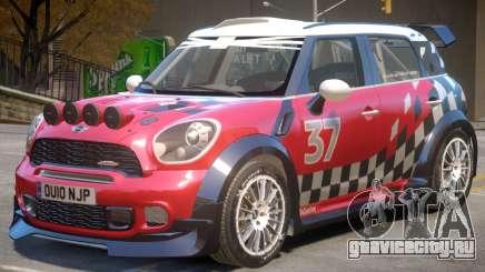 Mini Countryman Rally Edition V1 PJ1 для GTA 4