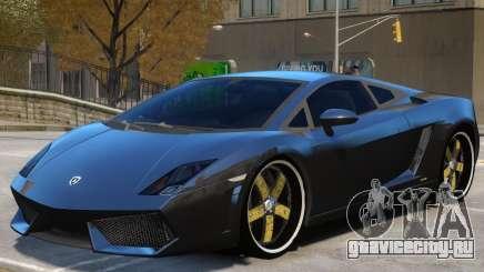 Lamborghini Gallardo LP560 V1 для GTA 4