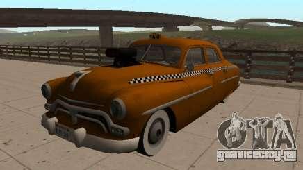 1950 Меркури Монтерей минивэн такси для GTA San Andreas