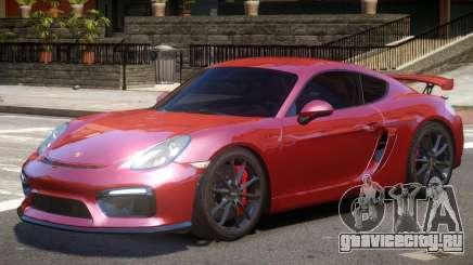 Porsche Cayman GT4 V2 для GTA 4