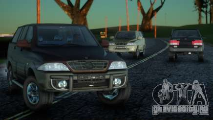SsangYong Musso 3.2 для GTA San Andreas