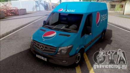 Mercedes-Benz Sprinter Van PepsiCO для GTA San Andreas